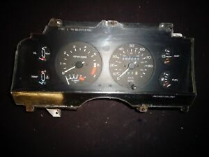 1985 1986 Ford Thunderbird 2 3 Turbo Coupe Instrument Cluster Gauges Tach Boost