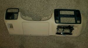 1994 96 Oem Caprice Lower Dash Panel W Radio Bezel Ash Tray Beige Tan Impala