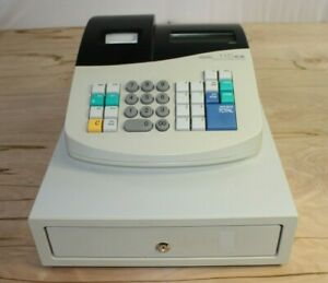 Royal 115cx Portable Cash Register System Electric Battery Operated No Keys