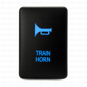 Train Horn Momentary Switch Blue For Toyota 32mm X 22mm Read Description