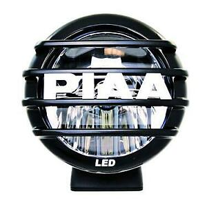 Piaa 05602 Lp560 6in Led Long Range Driving Light Single Sae Compliant 6000k