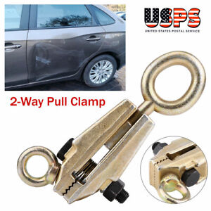 5ton Heavy Duty Frame Back Self Tightening Grips Auto Body Repair Pull Clamp Usa