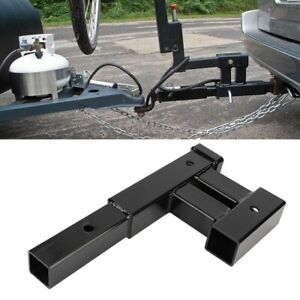 Dual Trailer Tow Hitch Mount Receiver Bar For Automotive Rack Accessories Us