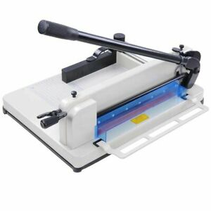 A4 Paper Cutter Guillotine Trimmer 12 Inch Cutting Machine Heavy Duty 400 Sheet