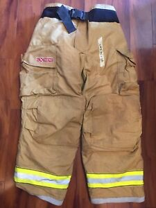 Firefighter Bunker Turnout Gear Pants Globe 40x30 G Extreme Costume 2007