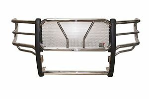 Westin Hdx Grille Guard 2011 2014 Chevy Silverado 2500 3500 Hd Stainless Steel