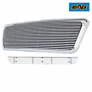Eag Chrome Billet Grille W Shell Fit 2006 2008 Ford F150