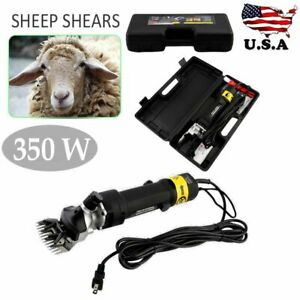 Farm Supplies Sheep Shears Goat Clippers Animal Livestock Shave Grooming 350w