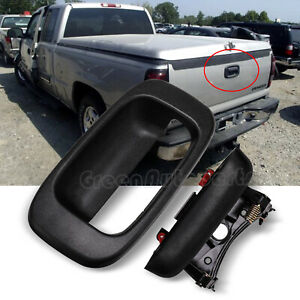 15997911 Tailgate Tail Gate Handle Bezel Trim Kit For Chevy Gmc Pickup Truck