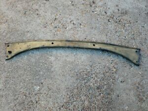 Original 1928 1929 Ford Model A Dash Rail Closed Car Coupe Sedan