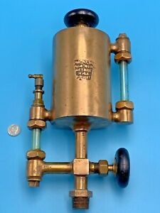 Old Brass Steam Engine Oiler Lubricator American Lubricator Company Detroit