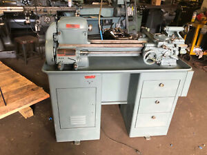 9 South Bend Lathe W taper Attachment 3 1 2 Bed