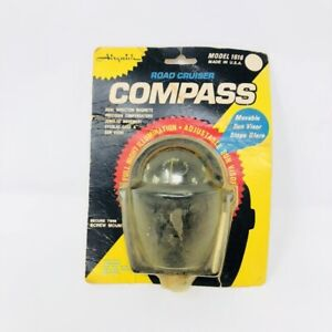 Vintage Airguide Compass Dome New Dash Nos Auto Boat Road Cruiser 1616