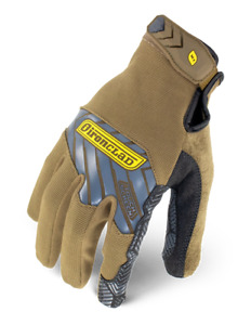 Ironclad Iex pgg Grip Gloves Brown Touchscreen Silicone Palm Select Size