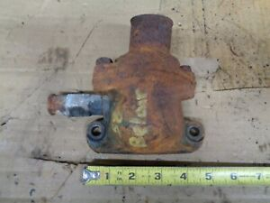 1958 Chevy Impala Bel Air 235 Engine Water Neck Thermostat Housing 1960 1962 Oem