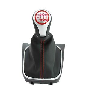For Vw Jetta 5 A5 Mk5 Gli 2006 2011 6 Speed Gear Shift Knob With Boot