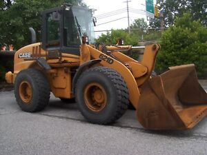 2005 Case 621d Wheel Loader 8641 Hrs 2 387 6 Cyl Turbo 4 Speed Ac