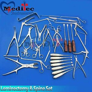 Leminectomy Spine Set Surgical Instruments by Meditec instruments