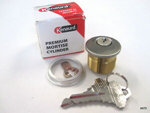 Kenaurd Premium Mortise Cylinder 1 26d Sc1 Solid Brass 5 pin W 2 Keys