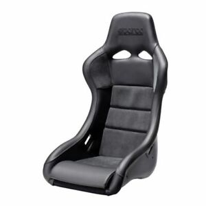 Sparco 008006rnr Qrt Performance Racing Seat Italian Leather Alcantara Black
