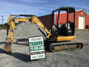 2014 Caterpillar 302 7d Cr Hydraulic Mini Excavator Only 2400hrs Coming Soon