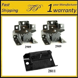 3 Pcs Front Motor Trans Mount For 1999 2004 Chevy Silverado 1500 2wd 4 8l 5 3l