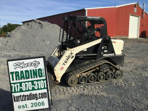 2015 Terex R070t Compact Track Skid Steer Loader Only 1200 Hours