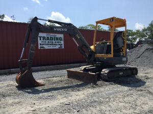 2013 Volvo Ecr38 Hydraulic Mini Excavator W Only 1300 Hours Coming Soon