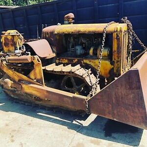 Rare Antique Caterpillar Cat 1930s Crawler Loader Tractor Bulldozer Twenty Five