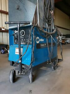 Miller Dialarc 250 Constant Current Ac dc Arc Welding Powersource With Leads
