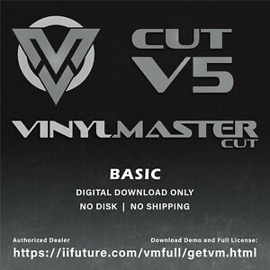 Vinylmaster Cut Psn link Basic Sign Making Software For Vinyl Cutters No Discs