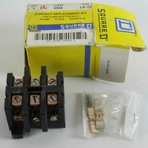 One Nos Square D 9998la53 Contact Replacement Kit 50a 3p For 8910 Type Mo 3