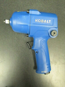 Kobalt 0 5 In 400 Ft Lbs Air Impact Wrench 1 2 Inch Sgy Air227