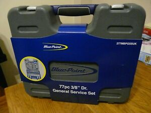 Blue Point By Snap On 77pc 3 8 Dr General Service Set Brand New 277mbpgssuk