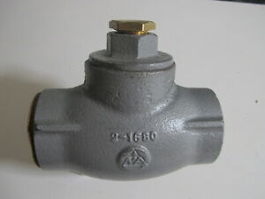 Na Check Valve Steam Applications 1807 3 4 031 2 1680 New