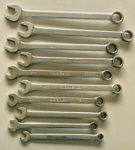 Matco 10 pc Long Metric Combination Wrench Set 10mm 19mm Made In Usa