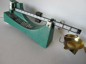 Brand RCBS Reloading Powder Scale 5-0-5 By Ohaus Corp.