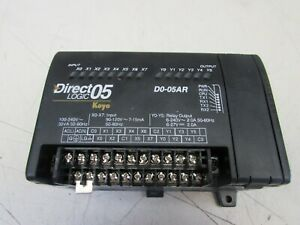 Automation Direct Direct Logic 05 D0 05ar Controller Module Nice Used Takeout