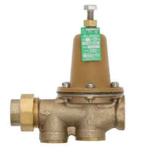 Watts 3 4 In Brass Fpt X Fpt Water Pressure Reducing Valve 3 4 Lf25aub z3