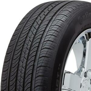 1 New 195 65r15 Continental Procontact Tx 91h All Season Tires 15498400000
