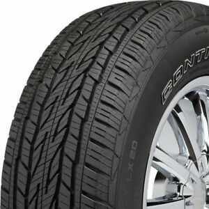 2 New 235 70r16 Continental Conticrosscontact Lx20 106t Tires 15490960000