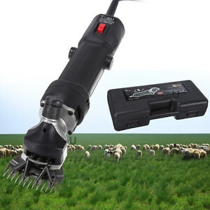 Sheep horse Clippers Electric Goat Shears For Alpacas Llamas Thick Coat Animals