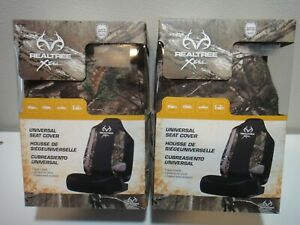 Realtree Xtra Hunting Camo Lowback Seat Covers For Car Or Trucks