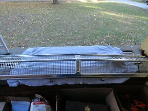 Vintage 1965 Plymouth Fury Grille Headlight Bezels