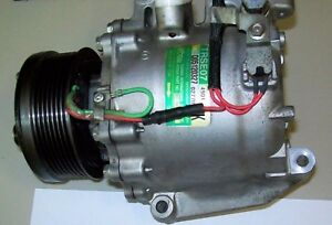 Honda Civic A C Compressor 2006 07 08 09 2010 1 8l 4cyl Coupe Sedan Ac Oem 97555