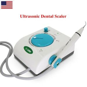 Ultrasonic Dental Scaler Home Self Scaler Cleaning Machine With Handpiece Tips