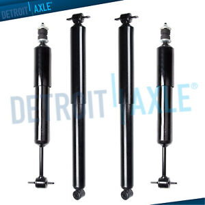 2001 2002 2003 2004 2005 Ford Explorer Sport Trac 4wd Front Rear Shock Absorbers
