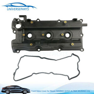 Front Valve Cover For Nissan Maxima Quest Altima Murano 3 5l V6 w Gasket 264985