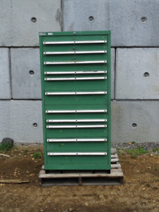 11 drawer Lista Deluxe Industrial Storage Tool Chest