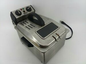 Waring Commercial Wdf75rc Electric Deep Fryer 120 Low Voltage 120 Volts